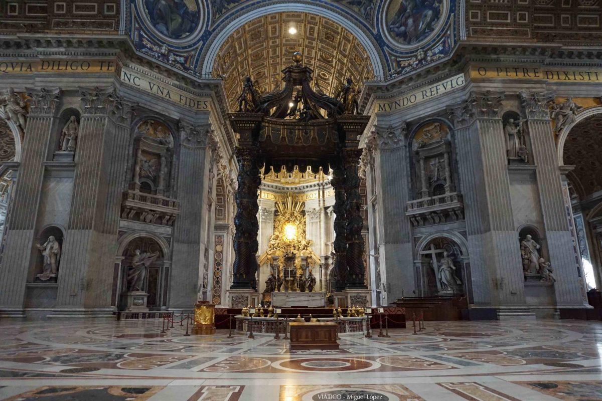 Altar Basílica de San Pedro
